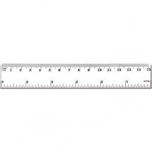 Linijka 15cm BL002-A