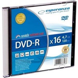 DVD-R ESPERANZA 4,7GB x16 - Slim 1 1113
