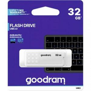 Pamięć USB GOODRAM 32GB UME2 biały USB 2.0 UME2-0320W0R11