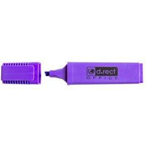 Zakreślacz D.RECT 1128 fioletowy 121001