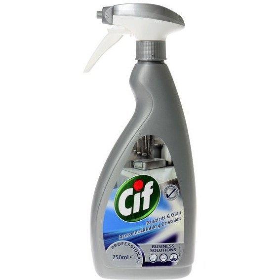 Płyn do czyszczenia stali nierdzewnej CIF 750 ml *16713 7518665