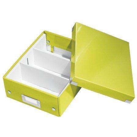 Pudełko z przegródkami A5 C&S zielone 60570054/60570064 LEITZ