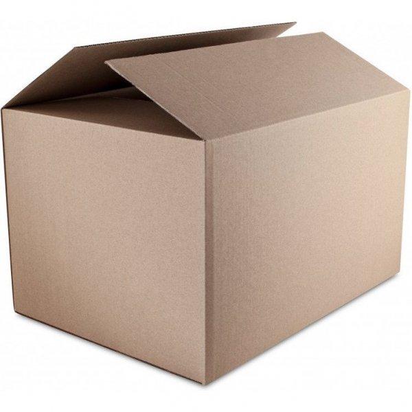 Karton wysyłkowy NATUNA 530x264x350 tektura trójwarstwowa szara