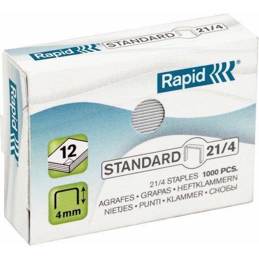 Zszywki 21/4 1M 1000szt Standa RAPID 24867600