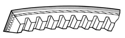 Pasek klinowy Jeep Cherokee 10 x 825  sil 2,1TD