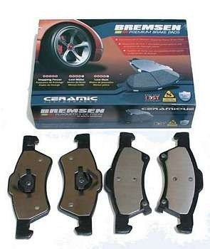 Klocki hamulcowe przednie BCD857 Chrysler Grand Voyager RG 2001-2007