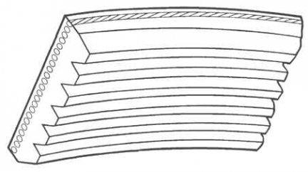 Pasek wielorowkowy 5PK1140 / 5060450 Transsport 2,3L