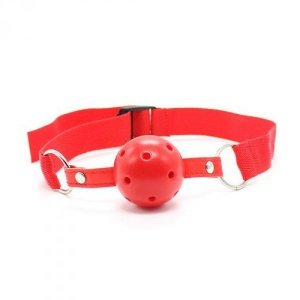 Knebel-Easy Breathable Ball Gag (rosso)