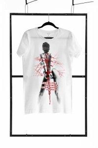 T-shirt men white M regular