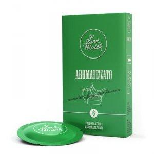 Prezerwatywy-Love Match Arromatizato  - 6 pcs pack