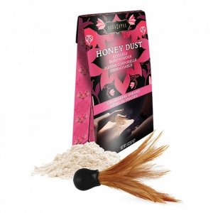 Puder do ciała - Kama Sutra Honey Dust Body Powder Strawberry Dreams 28 gram
