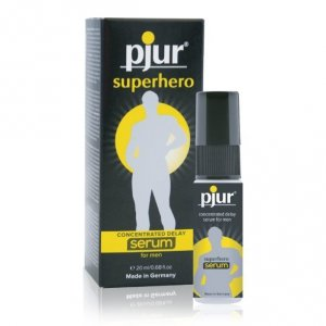 Serum opóźniające wytrysk - Pjur Superhero Serum 20 ml