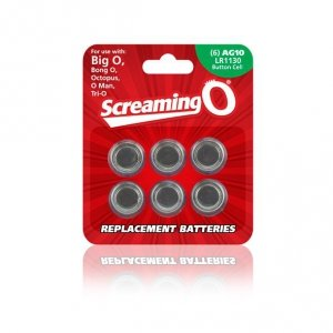 Baterie - The Screaming O Size AG-10 Batteries