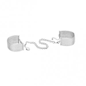 Kajdanki - Bijoux Indiscrets Magnifique Handcuffs Silver