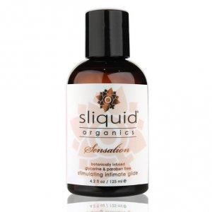 Żel nawilżający stymulujący - Sliquid Organics Sensation Lubricant 125 ml