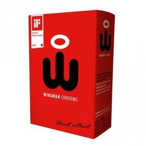 Prezerwatywy - Wingman Condoms 8 sztuk
