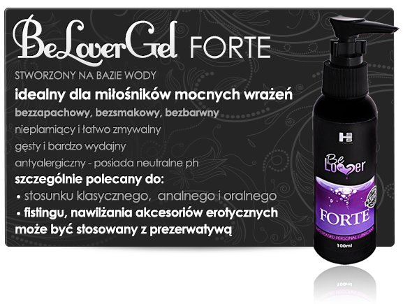 Żel-CC Be Lover Gel- Forte Power 100 ml