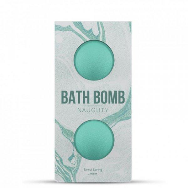Bomba do kąpieli - Dona Bath Bomb Naughty Sinful Spring Bath 140 gram