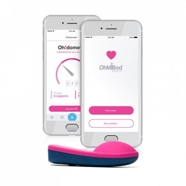 Masażer - OhMiBod blueMotion App Controlled Nex 1 (2nd Generation)