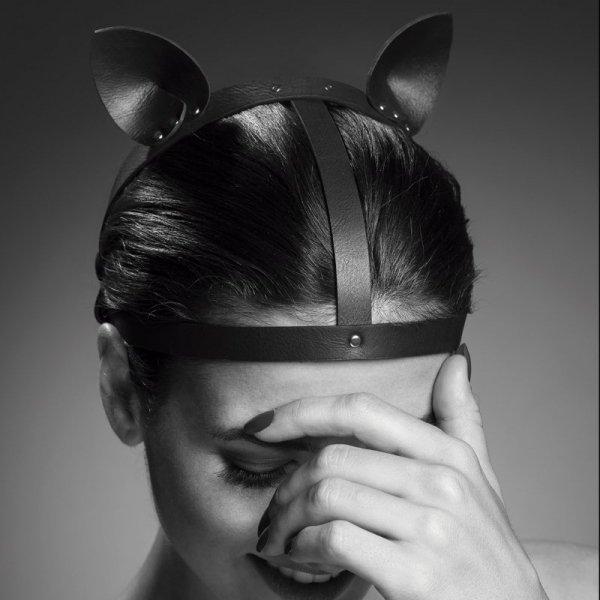 Opaska z uszami - Bijoux Indiscrets Maze Head Piece Black