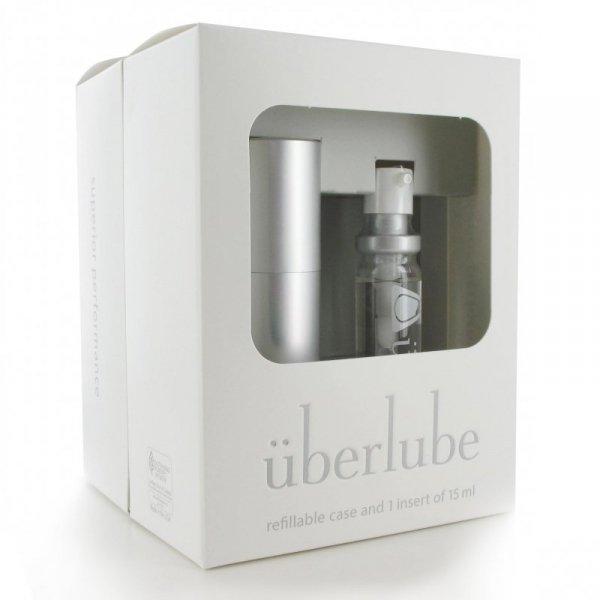 Środek nawilżający - Uberlube Silicone Lubricant Good-To-Go Silver & Refills
