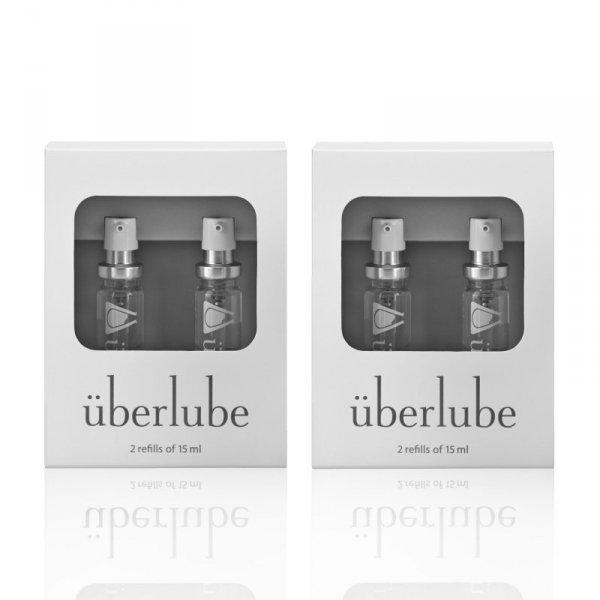 Środek nawilżający - Uberlube Silicone Lubricant Good-To-Go Refills & Refills