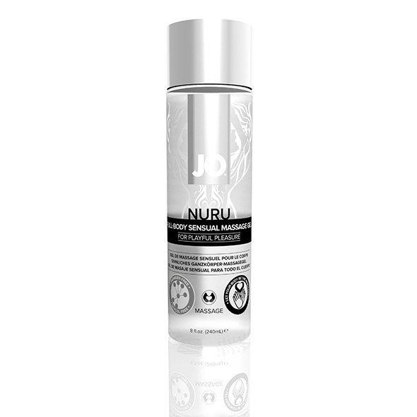 Żel do masażu - System JO Nuru Massage Gel Fragrance Free 240 ml