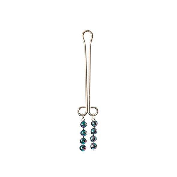 Kolczyk na łechtaczkę - Clitoral Jewelry Pearl Metallic