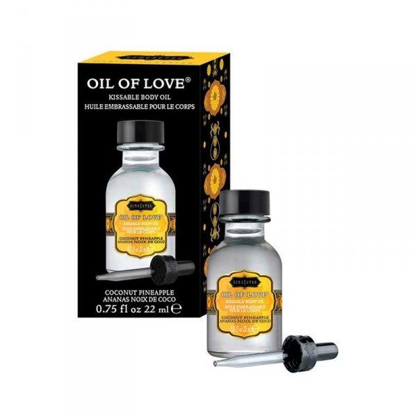 Olejek stymulujący - Kama Sutra Oil of Love Coconut Pineapple 22 ml