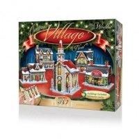 Puzzle 3D Christmas Village 116 elementów