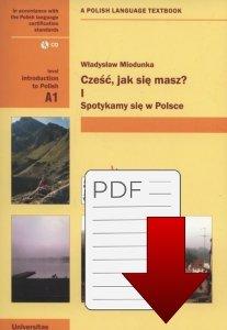 Cześć, jak się masz? I Spotykamy się w Polsce z nagraniami (A1) EBOOK