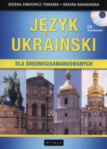 Język ukraiński dla średniozaawansowanych z płytą CD