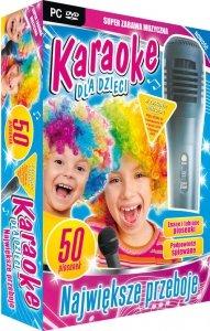 Karaoke dla dzieci Największe Przeboje - z mikrofonem (PC-DVD)