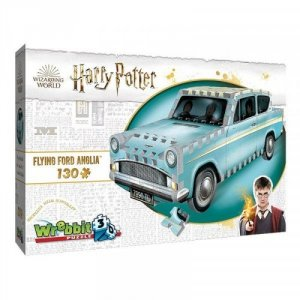 Wrebbit 3D Puzzle Harry Potter Flying Ford Anglia 130