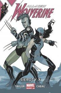 All-New Wolverine Sieroty X