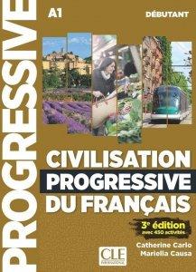 Civilisation progressive du francais Debutant A1 Podręcznik do nauki cywilizacji Francji + CD