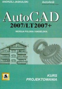 AutoCad 2007/LT2007 + Wersja polska i angielska kurs projektowania