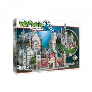 Puzzle 3D Zamek Neuschwanstein 890