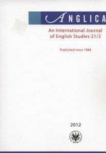 Anglica An International Journal of English Studies 21/2 2012