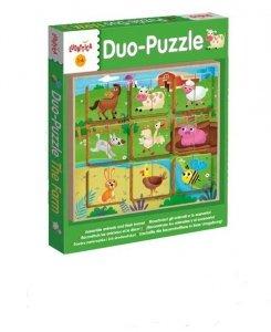 Ludattica Legno Puzzle-Duo The Farm