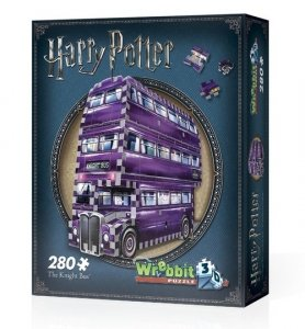 Puzzle 3D Wrebbit Harry Potter The Knight Bus 280
