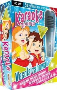 Karaoke dla dzieci wesoła zabawa z mikrofonem (PC-DVD)