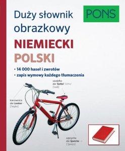 Duży słownik obrazkowy Niemiecki Polski Pons