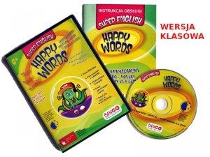 HAPPY WORDS oprogramowanie multimedialne dla szkół i przedszkoli