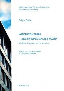 Architektura Język specjalistyczny. Skrypt dla obcokrajowców na poziomie A2+/B1