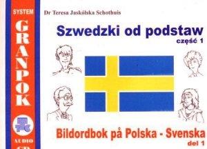 Szwedzki od podstaw 1. Ilustrowany słownik szwedzko-polski z płytą CD