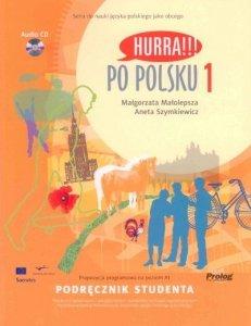 Hurra Po Polsku 1. Podręcznik studenta + CD