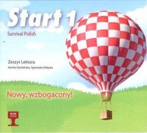 Start 1. Survival Polish. Zeszyt lektora na CD