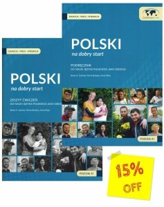 Polski na dobry start. Podręcznik z płytą CD + Zeszyt ćwiczeń. Zestaw 10 kompletów