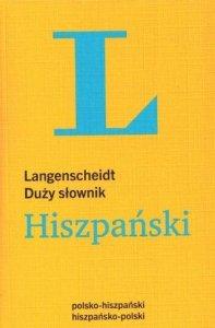 Duży słownik polsko-hiszpański, hiszpańsko-polski Langenscheidt